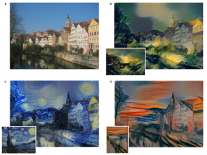 Painting with deep neural network